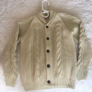 *️⃣ 2/$30 Gymboree size L cable knit sweater